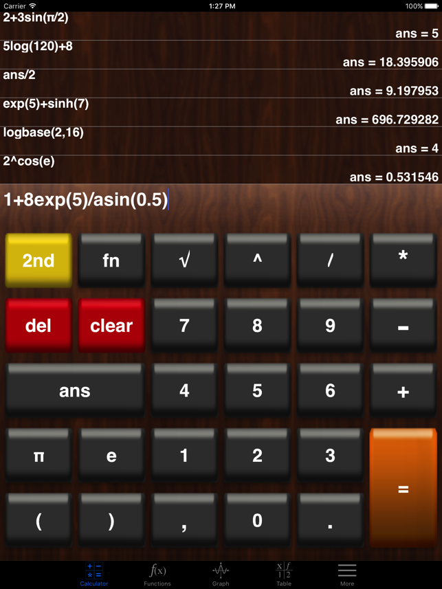 ‎My Graphing Calculator Lite Screenshot