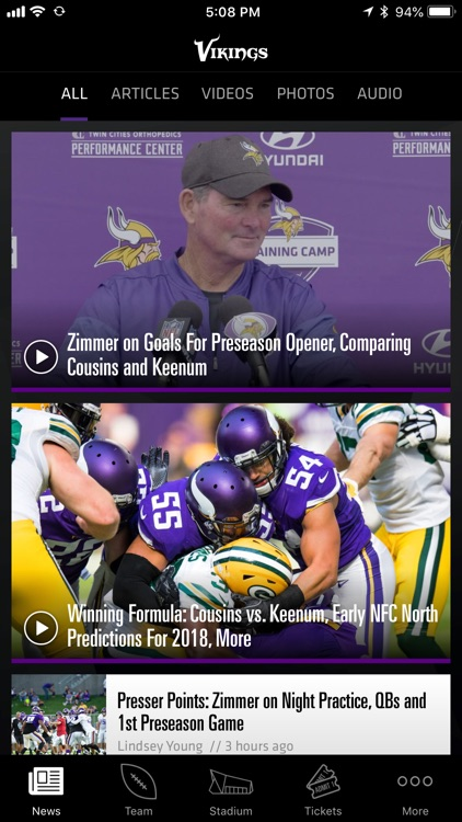 Minnesota Vikings screenshot-1