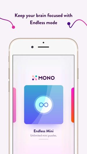 MONO — colors and connections Screenshot