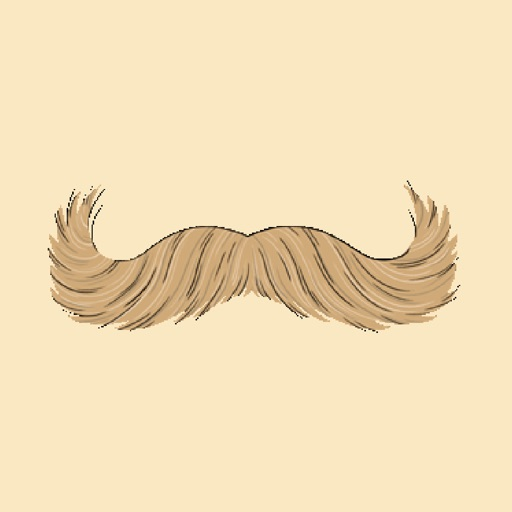Stache Talk Mustache Animated