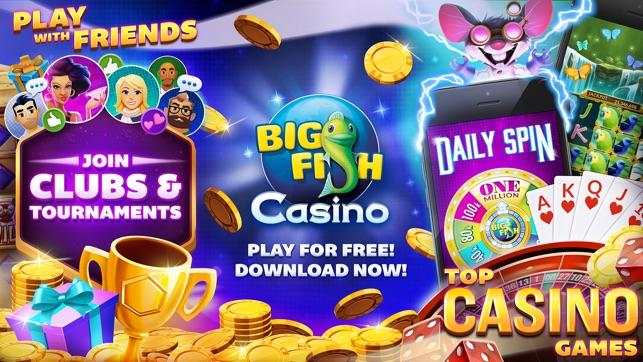Big fish casino slots games on the app store for Big fish casino slots