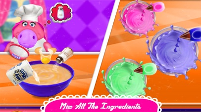 Fat Unicorn Cooking Pony Cake screenshot 2