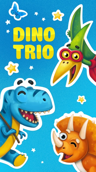 Dino Trio. Your Dinosaurs Pets-0