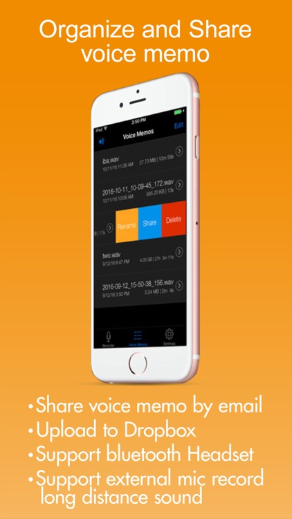 Voice Recorder HD screenshot-3
