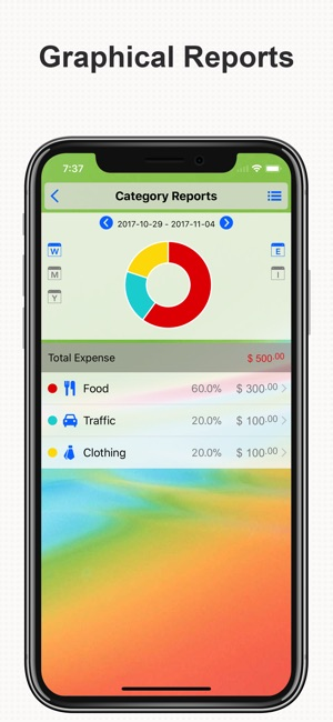 DayCost Pro - Personal Finance Screenshot