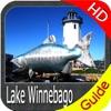 Lake Winnebago GPS map HD - fishing charts offline