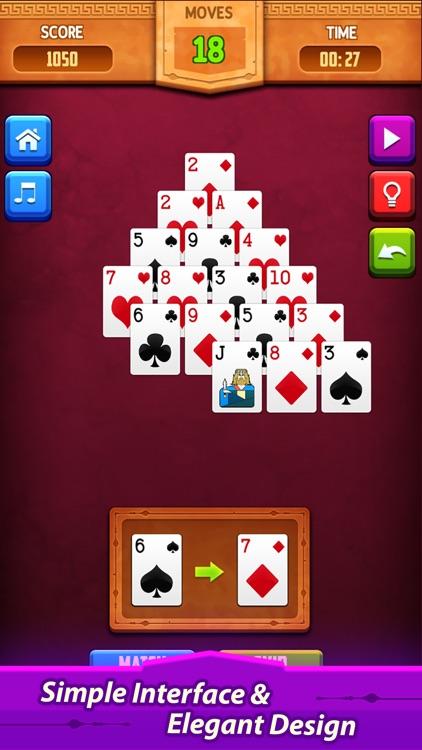 Pyramid Solitaire: Card Game screenshot-4