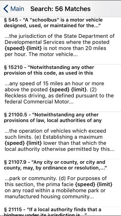 CA Vehicle Code 2019 screenshot two