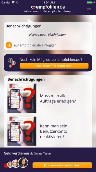 Konto empfohlen löschen de Gelöst: eMail