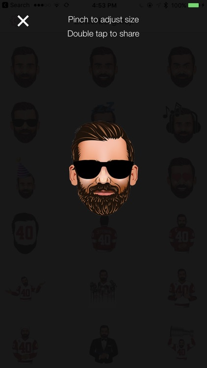 ZetterbergMoji by Henrik Zetterberg screenshot-1