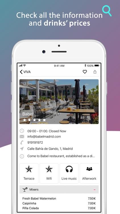 VIVA - The best bars in Madrid screenshot-3