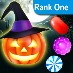 Candy Halloween Games Match 3