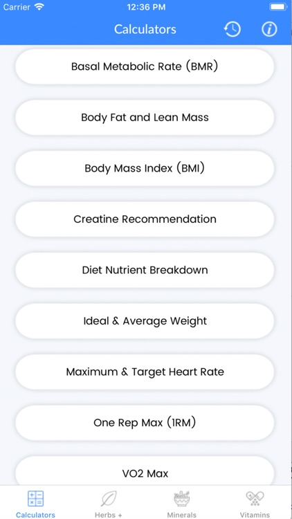 FitCal - Fitness Calculator