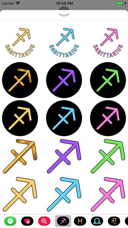 SAGITTARIUS Stickers