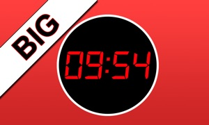 iDigital Big Clock TV Edition