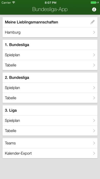 Screenshot for Bundesliga-App + in Germany App Store