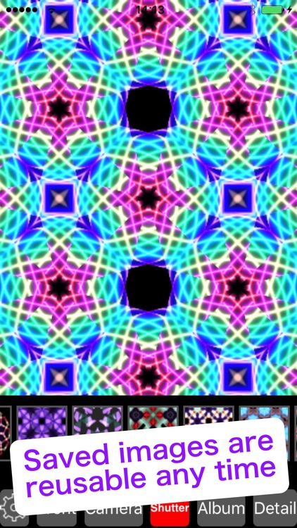 Kaleidoscope Art - Picture editor & camera filters screenshot-3