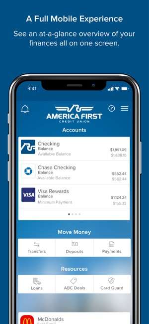 America First Credit Union on the App Store