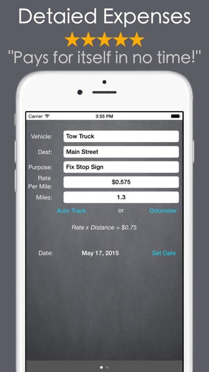 MEL: Mileage Tracker Plus X IQ