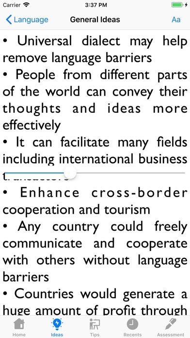 IELTS Ideas