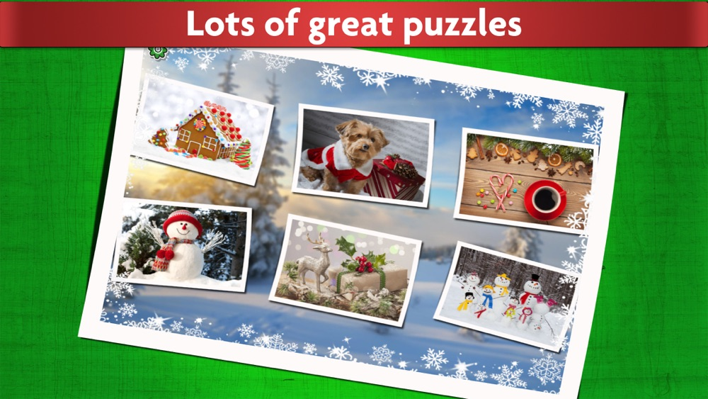 Christmas Jigsaw Puzzles Game