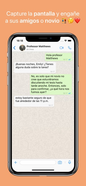 Whatsfake Crear Chats Falsos En App Store