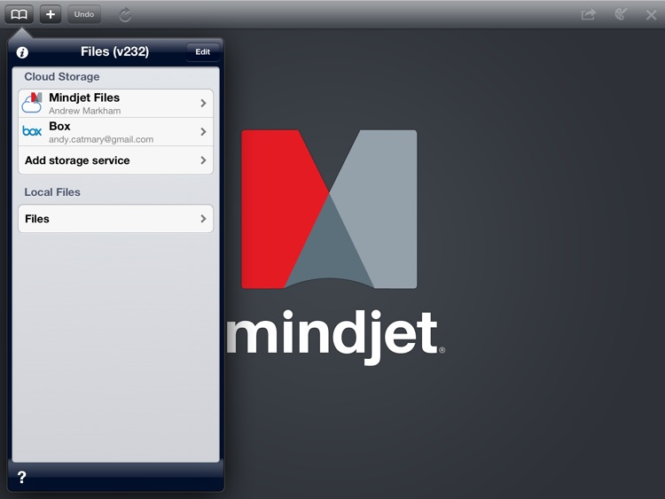 Mindjet Maps for iPad screenshot-0