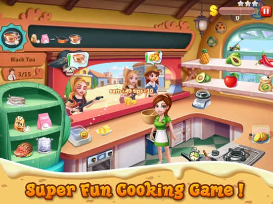 Rising Super Chef 2 на iPad