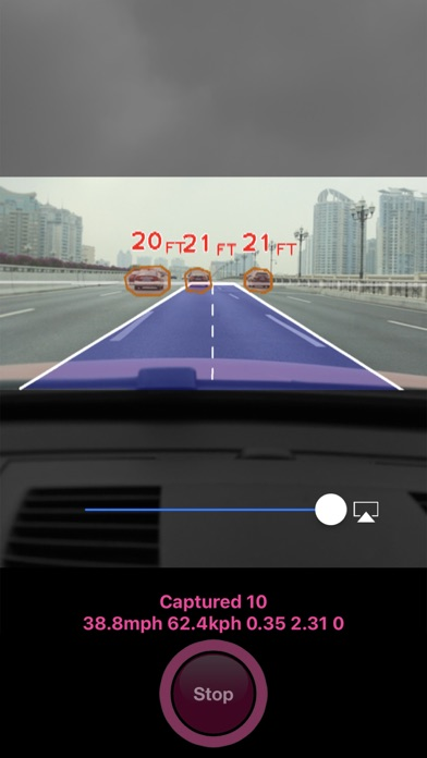 Pre-Crash Dash Camera 2in1