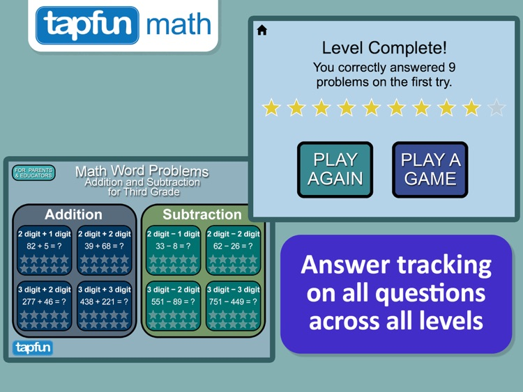 Math Word Problems 2 Pro by Tapfun Inc.