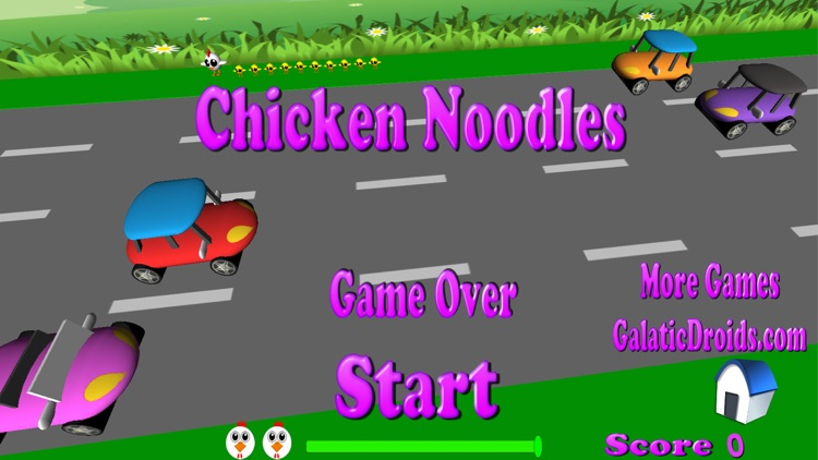 Chicken Noodles cross the road screenshot-4