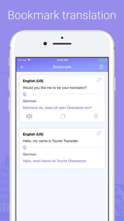 Tourist Translate World screenshot-4