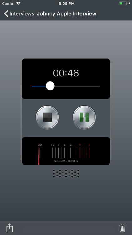 Record - Voice Recorder screenshot-3