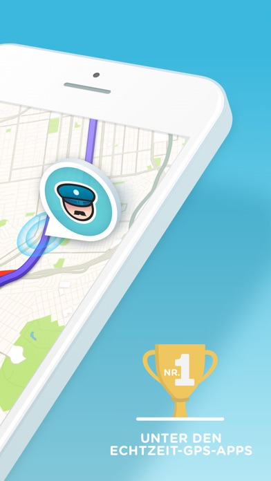 Screenshot for Waze Navigation und Verkehr in Switzerland App Store