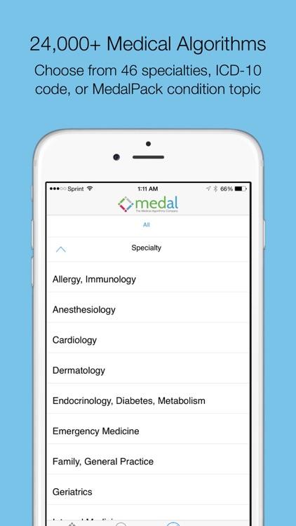 Medical Calculators Algorithms