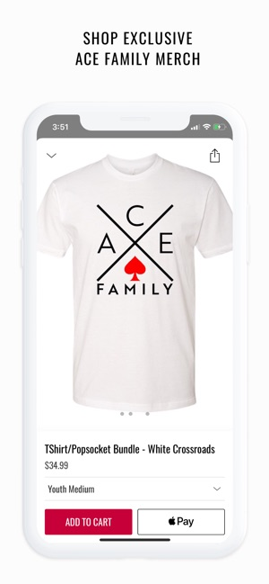 separation shoes 4d2e6 f12b0 The ACE Family on the App Store