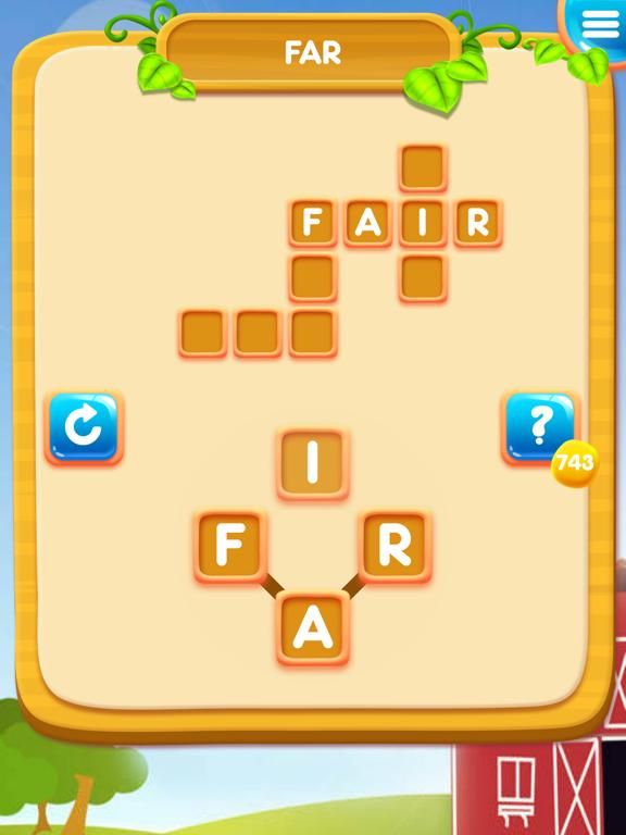 Word Cross Farm: Search Games screenshot 6
