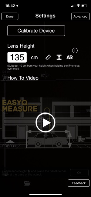 EasyMeasure - Original Screenshot