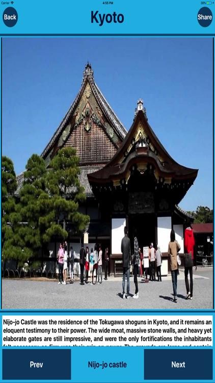 Kyoto Japan Tourist Places screenshot-3