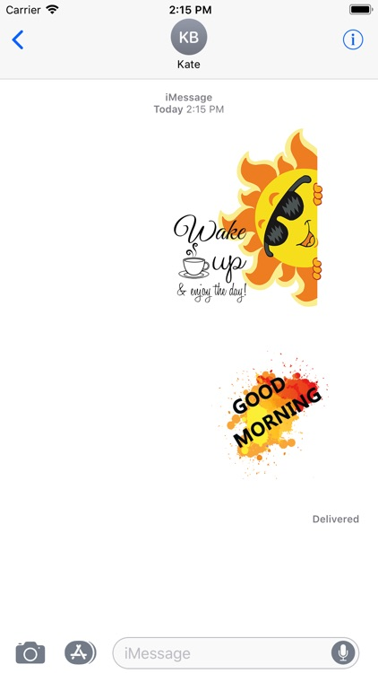 Good Morning Stickers 2018 screenshot-4