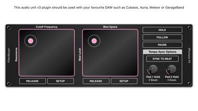 FilterMorph AUv3 Audio Plugin screenshot 2
