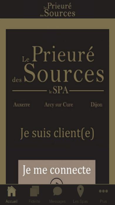 Le Prieuré des Sources screenshot one