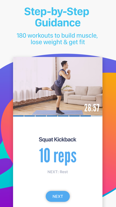 Bliss Fit - Home & Gym Workout screenshot 3