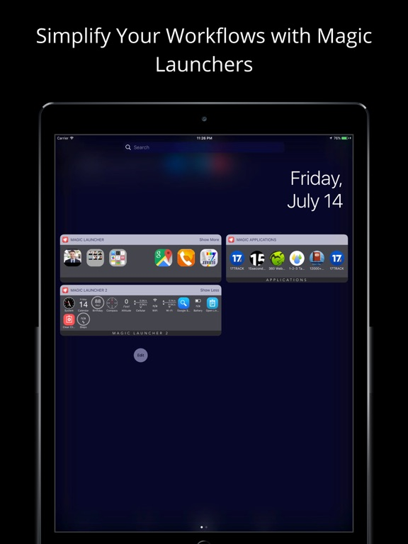 Magic Launcher Pro Screenshots