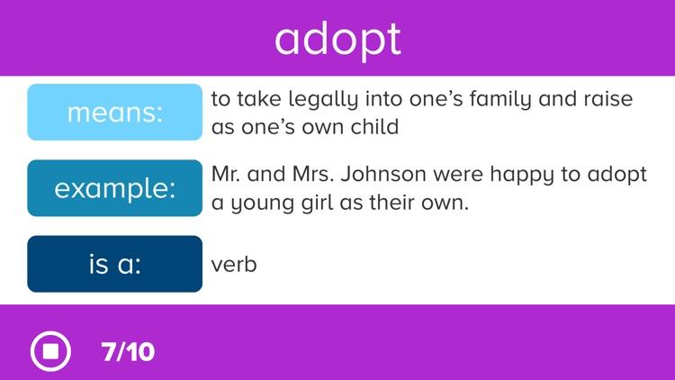 3rd Grade Vocabulary Prep screenshot-6