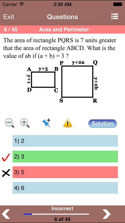Geometry for the ACT ® Test