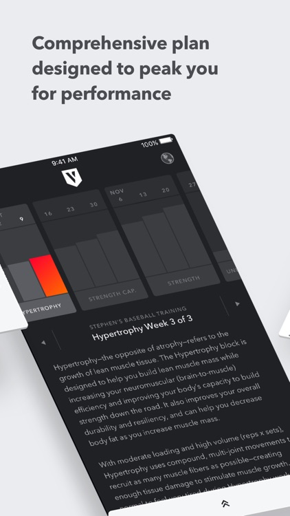 Volt: Strength Training Workouts for Your Sport screenshot-3
