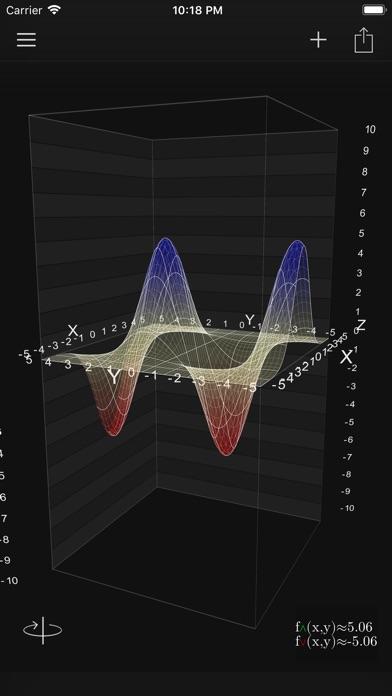 Screenshot #2 pour Visual Math 4D