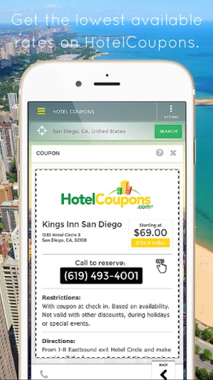 Hotelcoupons On The App Store