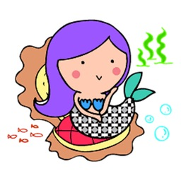 Mermaidmoji - Mermaid Sticker